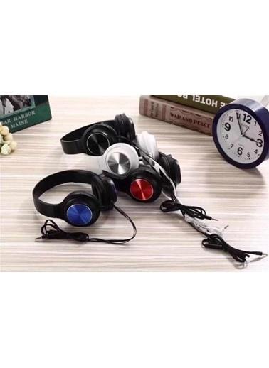Bludfire JB10 Mikrofonlu Kulak üstü Kulaklık HD-Mic 3.5mm Aux Girişli Mavi